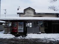 西魚津駅前