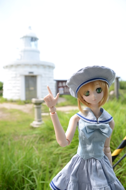 小隠里@立石岬の灯台へ