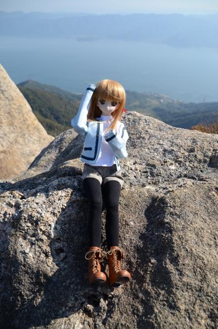 小隠里@色づき始めてる山々へ
