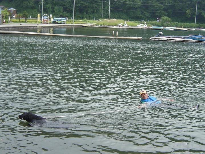 09) 2005 09 03 お父さん救助っ!(野尻湖)