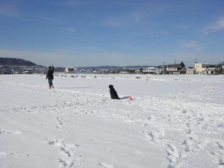 08) 2005 01 03 雪上練習
