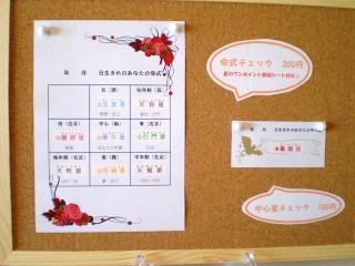 算命学の命式チェック表☆