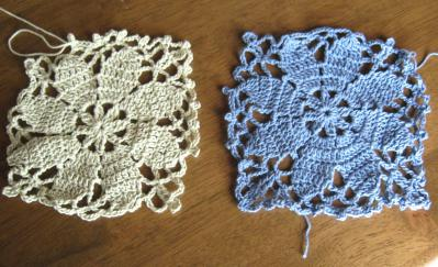 編み物ドイリー