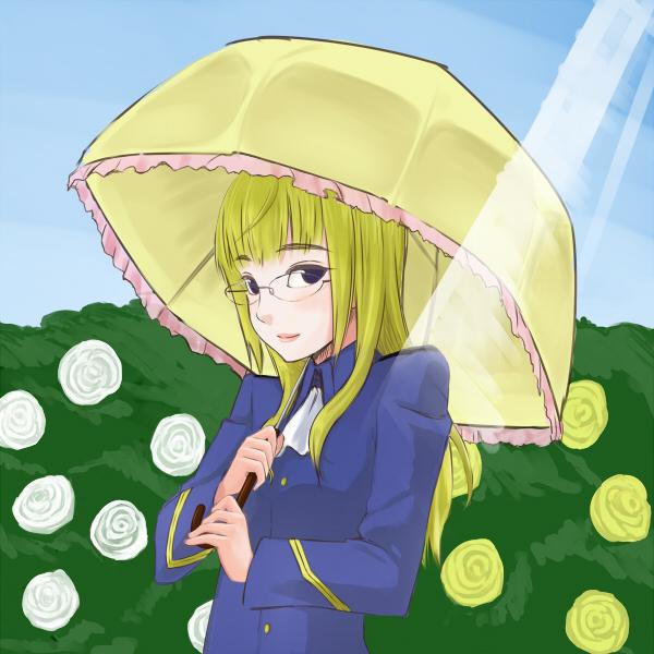 ペリーヌ日傘