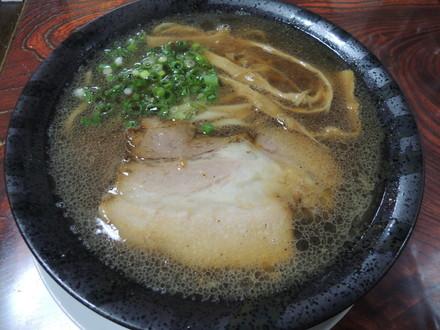 海老醤油(平打ち太麺)(700円)