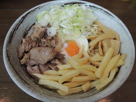カレー油そば(950円)