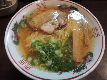 金醤油ラーメン(650円)