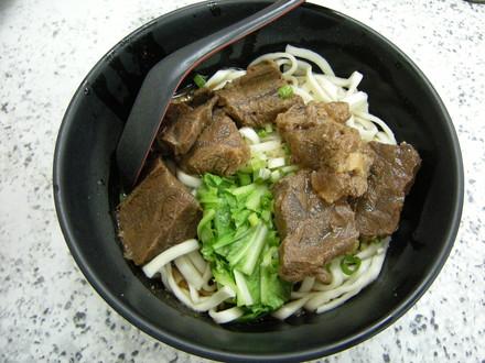 牛肉乾拌麺(120NT$)
