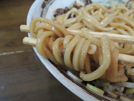 マー油 油そばの麺