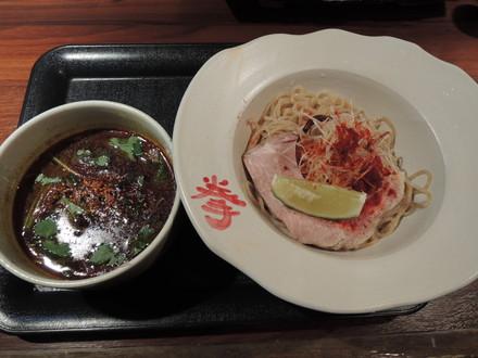 秋刀魚節CURRYつけ麺(500円)+大(50円)