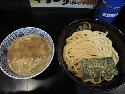 豚骨つけ麺 大盛(冷やもり、ダブルスープ)(950円)