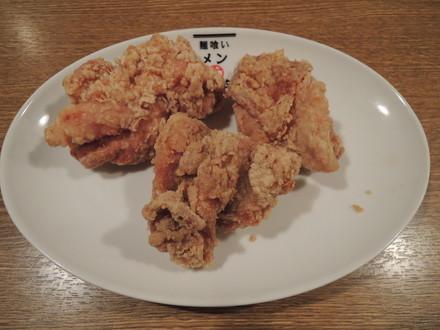 から揚げハーフ(3個)(250円)