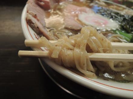 Ginger Fusukake Noodleの麺