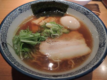 今昔支那そば醤油(700円)+味付煮玉子