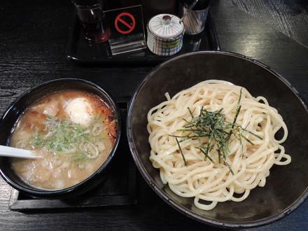 つけめん(750円)+半熟味付玉