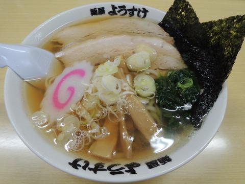 ラーメン(600円)+のり3枚(50円)