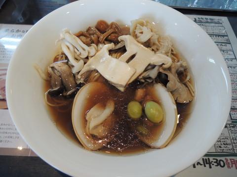 特製秋薫る草庵牡蠣正油らぁ麺(1330円)