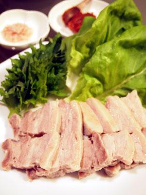 豚バラ肉のポッサム