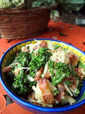 ブロッコリーとポテトのサラダ