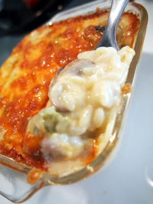 Risoの蟹グラタン