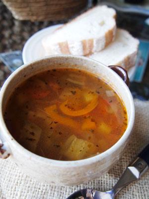 ドライトマトのスープ