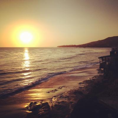 ラグーナビーチ サンセット