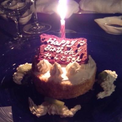 【れんと】誕生日ケーキ