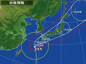 台風1012