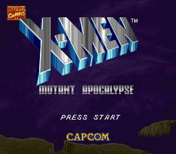 X-Men - Mutant Apocalypse (J)000