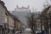 市街地からの砦