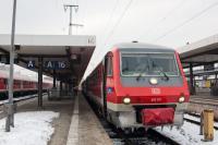 ヘプ行き国際快速列車(ニュルンベルク駅)