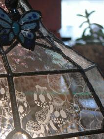 syn-蝶とランプ