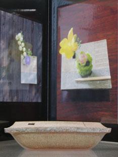 詩季・角花器と写真