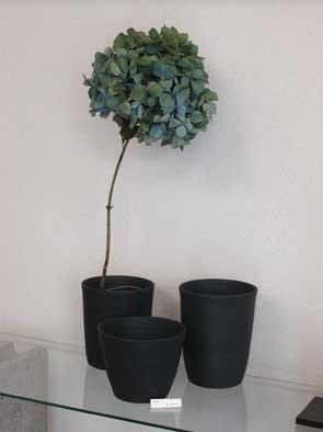 beau黒花器