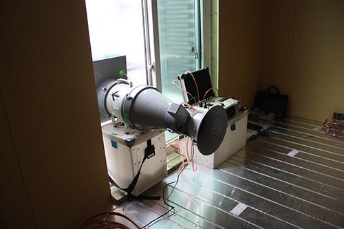 機密測定の機械