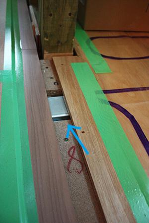 床暖房配管カバー