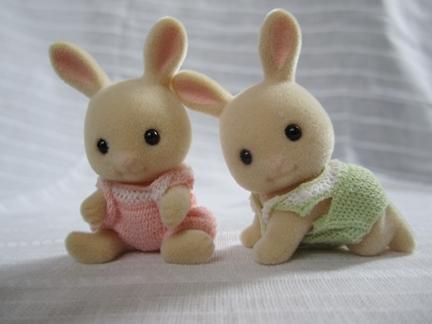 みるくウサギ赤ちゃん下
