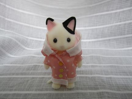 レインコート猫2