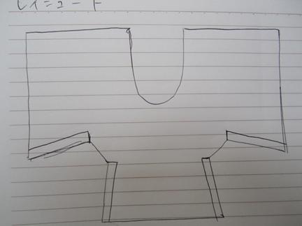 レインコート2型紙