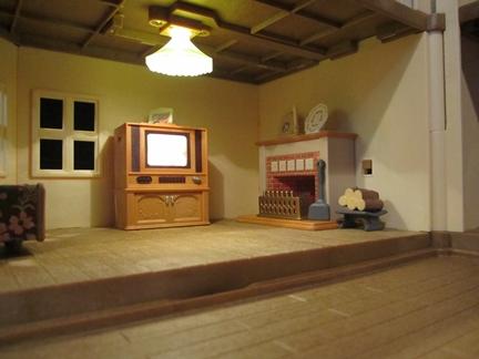 テレビ暖炉
