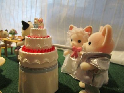 結婚式ケーキ