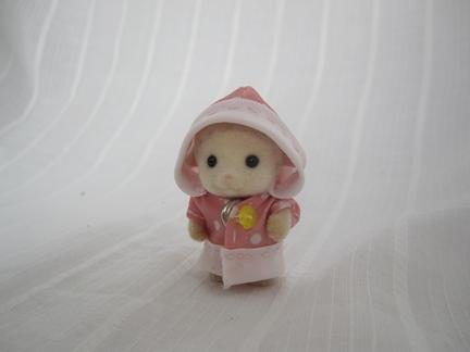 レインコート赤ちゃん
