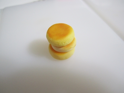ホットケーキ3段