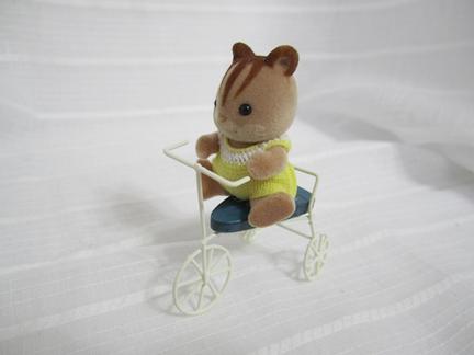 ハンドメイド三輪車リス