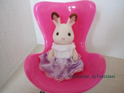 りぃちゃんの椅子