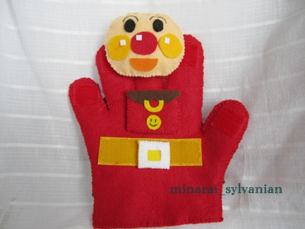 アンパンマン手袋2