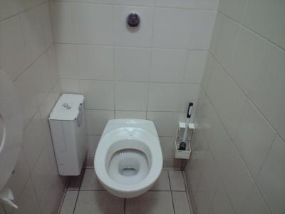 フランスの公衆トイレ