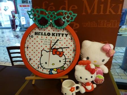 Café de Miki with Hello Kitty29