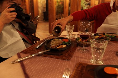 赤煉瓦夕飯3