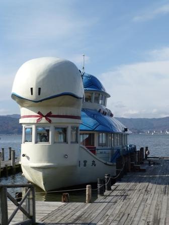 諏訪湖観光汽船12